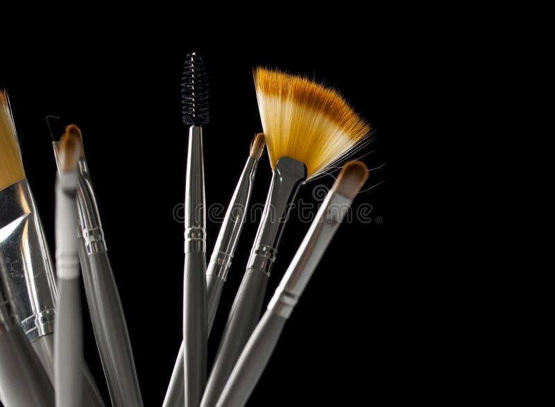 De toebehoren van de make-up stock foto