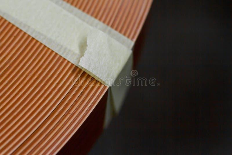 De toebehoren van het meubilair Multicolored spoelen van de rand en de melanine van pvc voor de vervaardiging van meubilair Lig p royalty-vrije stock afbeeldingen