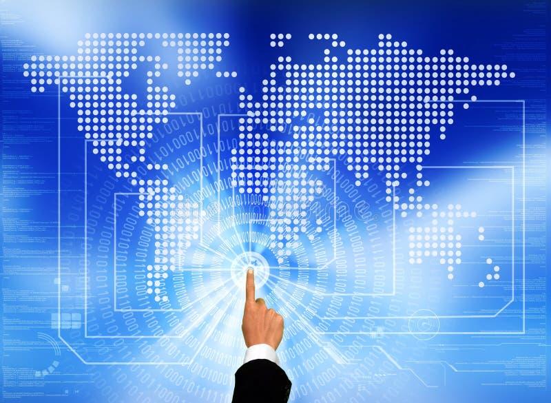 De toegang tot van het Mondiale Net