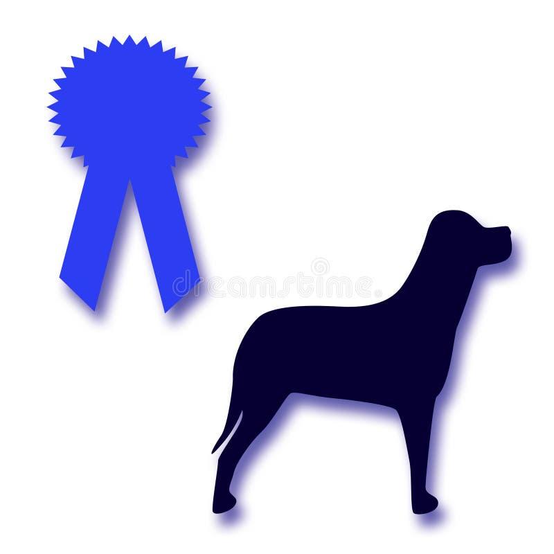 De toekenning van de hond royalty-vrije illustratie