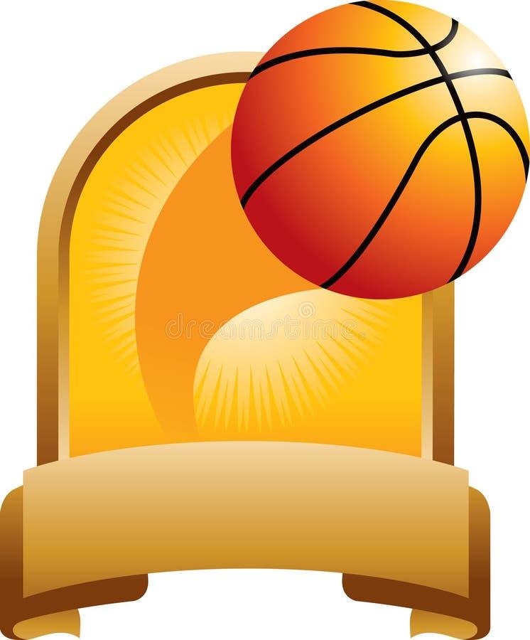 De toekenning van het basketbal stock illustratie