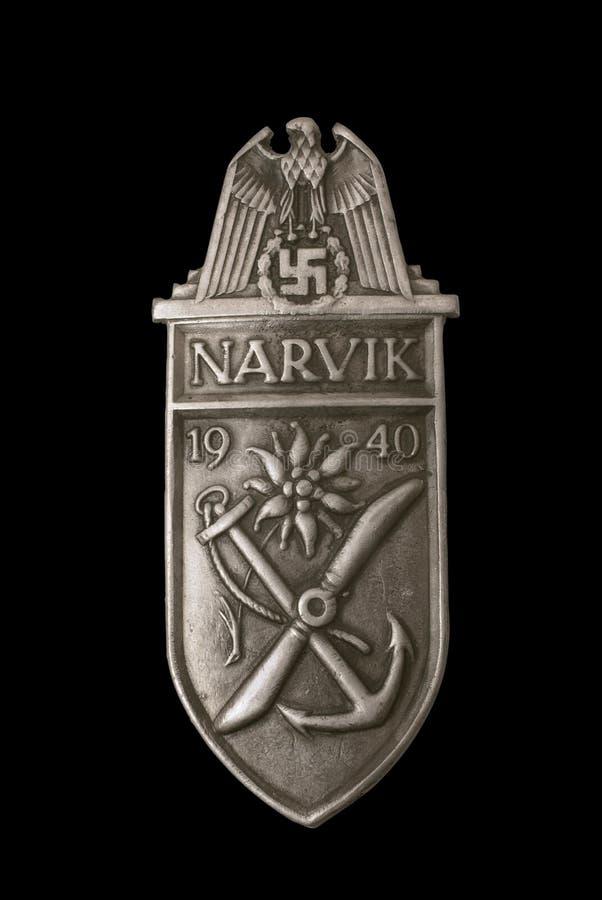 De toekenning van het Schild van Narvik royalty-vrije stock foto