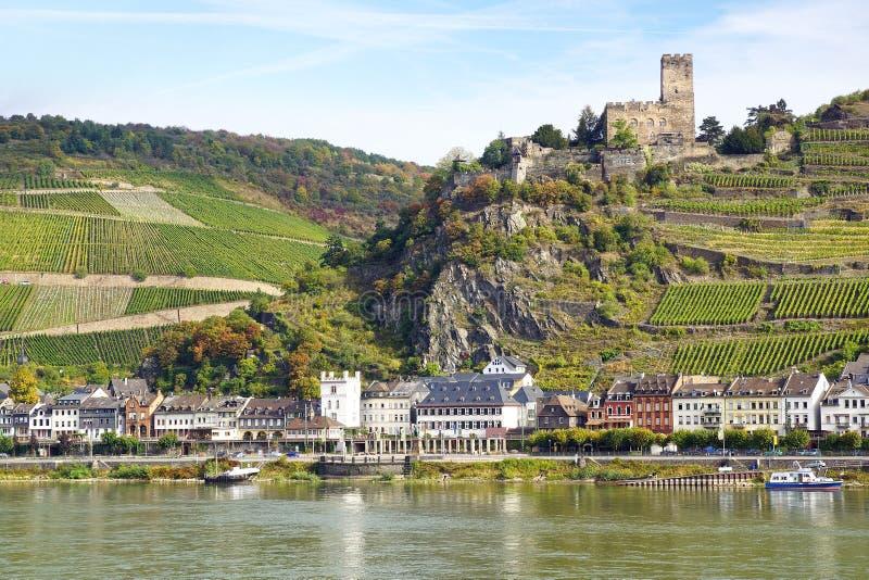 Burg Gutenfels. royalty-vrije stock afbeelding