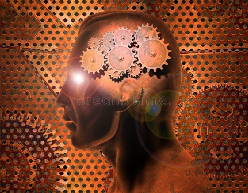 De Toestellen van hersenen stock illustratie