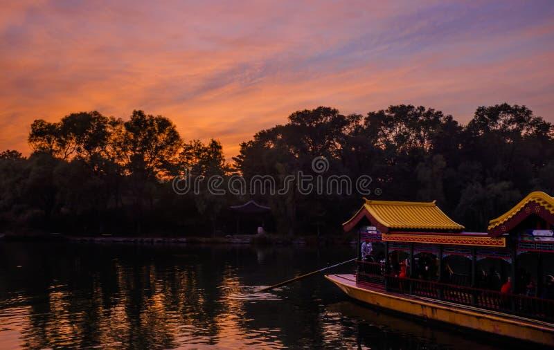 De Toevlucht van de Chengdeberg stock foto