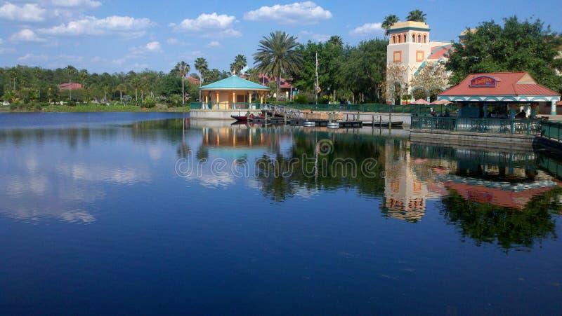 De Toevlucht van de Coronadolentes, Disney-Wereld stock foto's