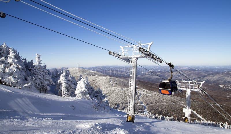 De Toevlucht van de ski stock fotografie