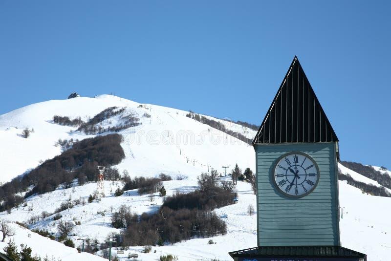 De toevlucht van de ski in Argentinië royalty-vrije stock foto's