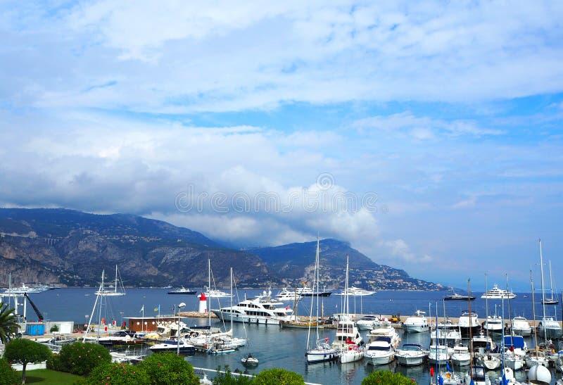 De toevluchtstad van het zuiden van Frankrijk Cap Ferrat stock foto's