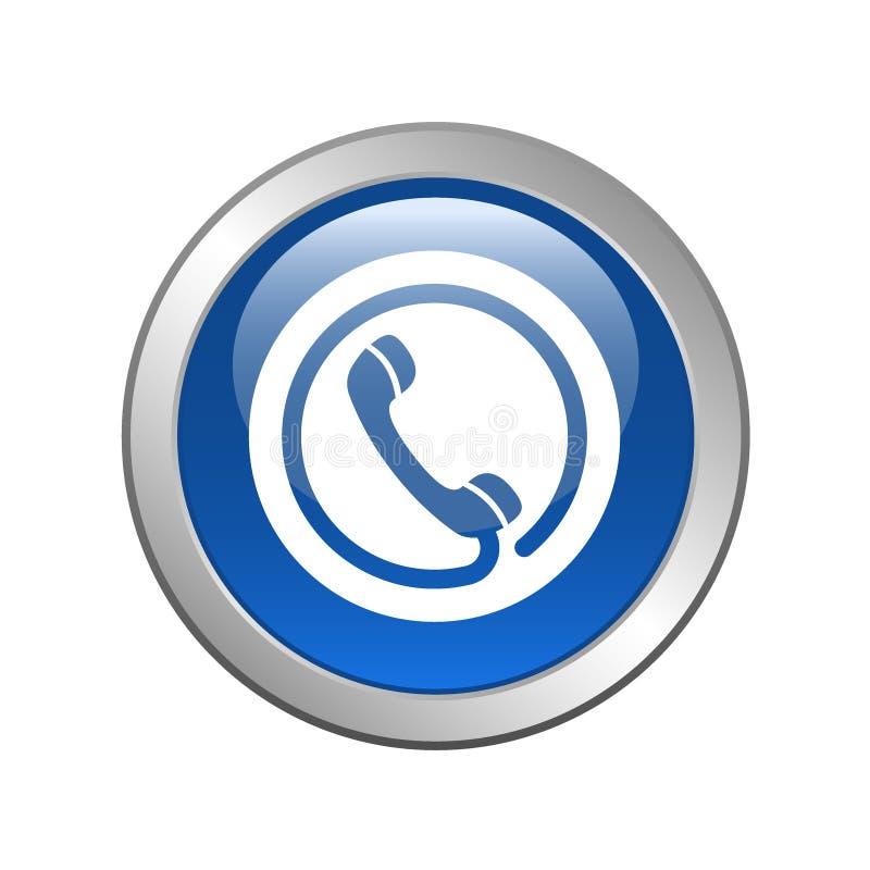 De tol van het telefoonpictogram - vrije knoop vector illustratie