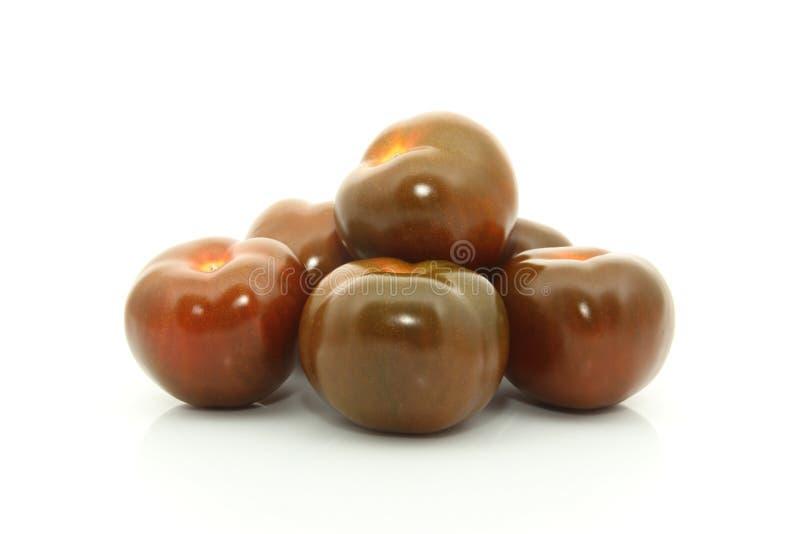 De tomaat van Kumato stock fotografie