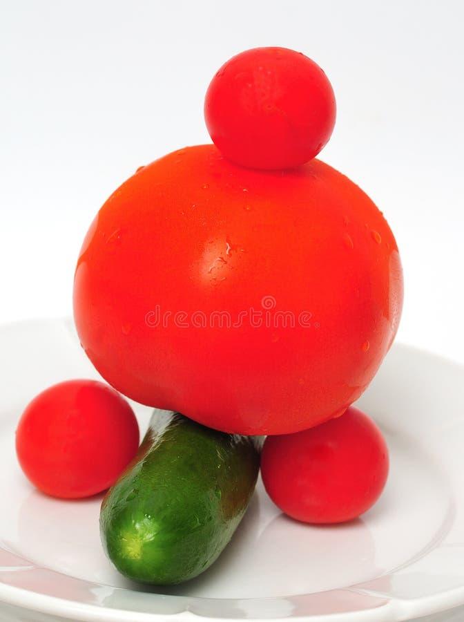 Download De Tomaat van Seignior stock afbeelding. Afbeelding bestaande uit plantaardig - 10777813