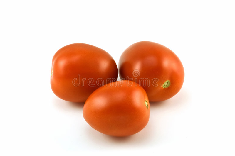 De tomaten van Rome royalty-vrije stock fotografie