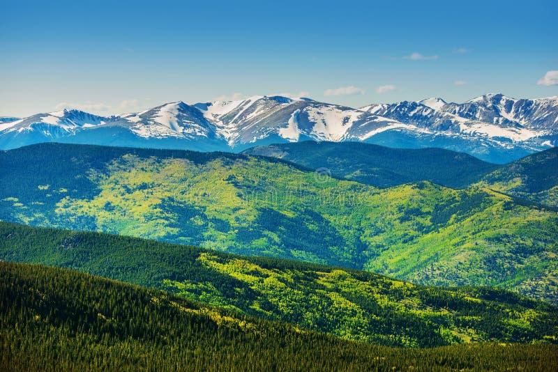 De toneelbergen van Colorado royalty-vrije stock foto's