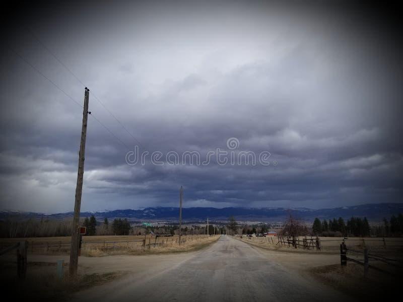 De toneelmening van Montana royalty-vrije stock foto