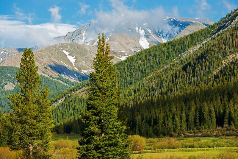 De toneelzomer van Colorado stock foto's