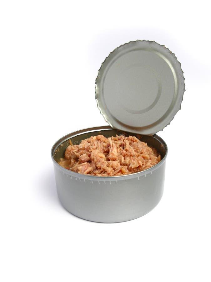 De tonijn kan openen stock foto's