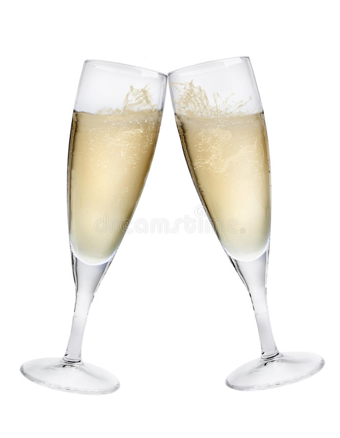 De Toost van Champagne royalty-vrije stock afbeelding