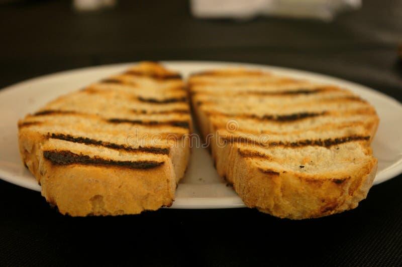 De toostbrood van Catalonië in de lijst stock afbeelding
