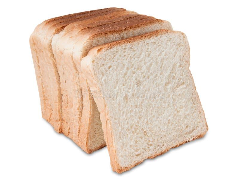 De toostplakken van het brood stock fotografie
