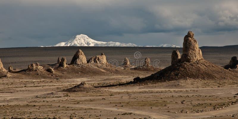 De Toppen van de woestijn stock foto