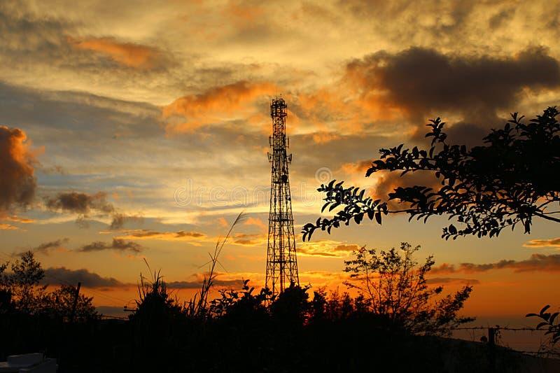 De toren stock afbeeldingen