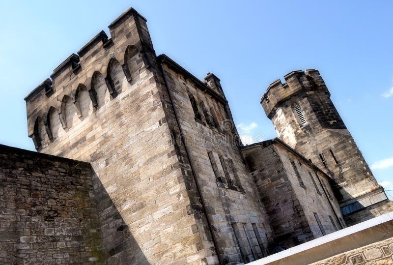 De toren bij Oostelijke Penitentiary van de Staat stock afbeeldingen