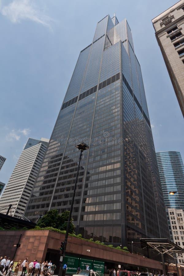 De Toren Chicago van Willis royalty-vrije stock fotografie