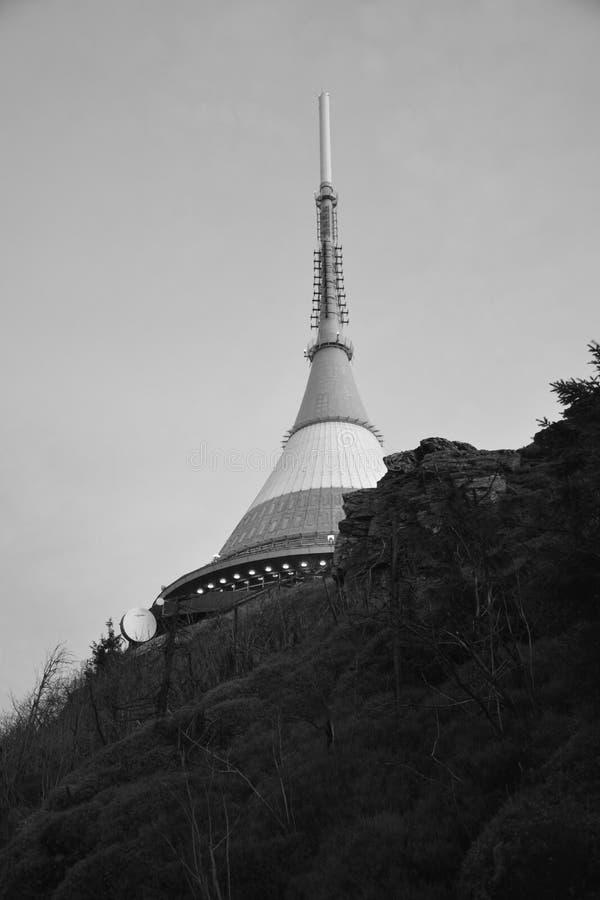 De toren gekscheerde royalty-vrije stock foto's