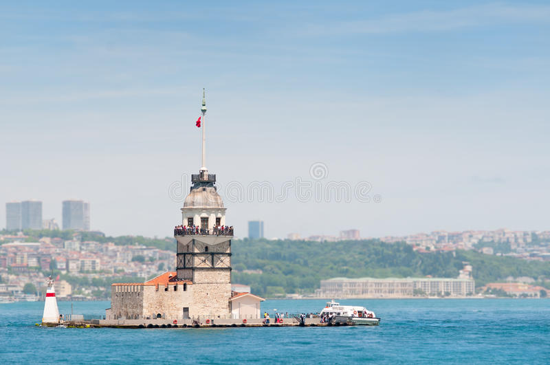 De Toren Istanboel van meisjes stock afbeelding