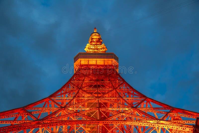 De Toren Japan van Tokyo stock foto