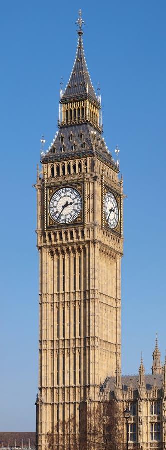 De Toren Londen van de Big Ben stock foto