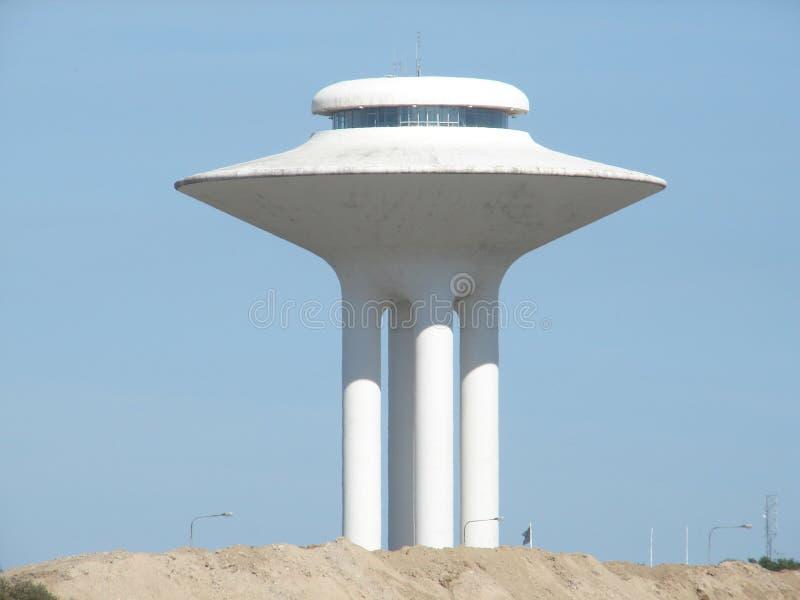 De toren Malmo, Zweden van het water stock afbeeldingen