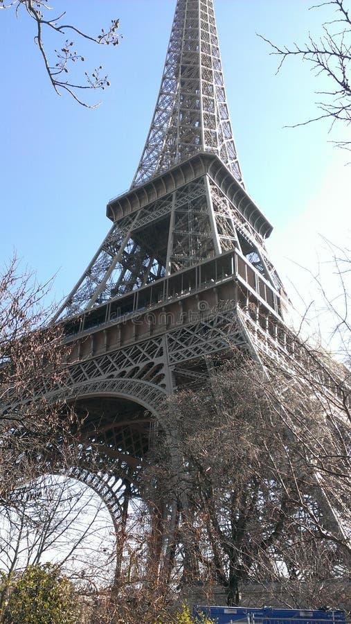 De toren Parijs van Eiffel stock afbeelding