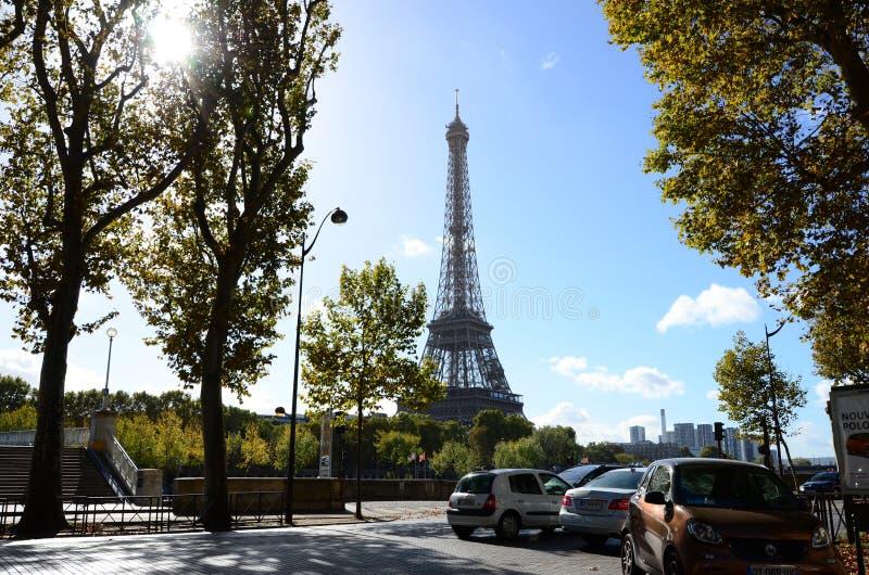 De Toren Perfecte Dag van Parijs Eiffer royalty-vrije stock afbeelding