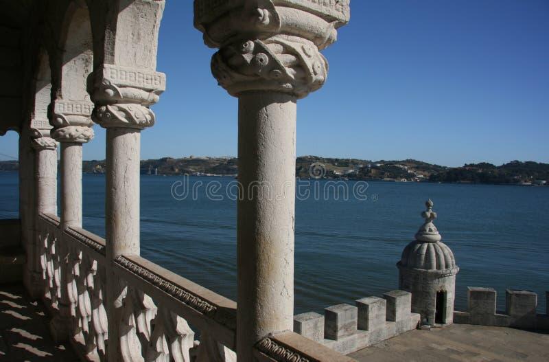 De Toren van Belem, Lissabon royalty-vrije stock fotografie