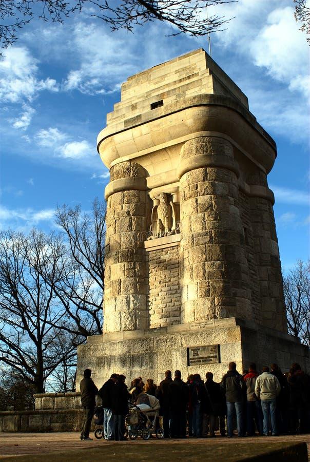 De Toren van Bismarck (Stuttgart) stock fotografie
