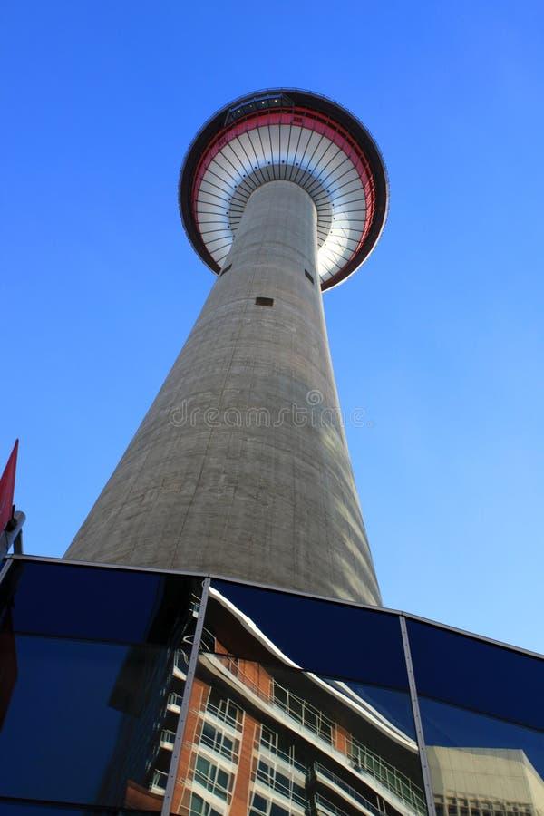 De Toren van Calgary stock foto's