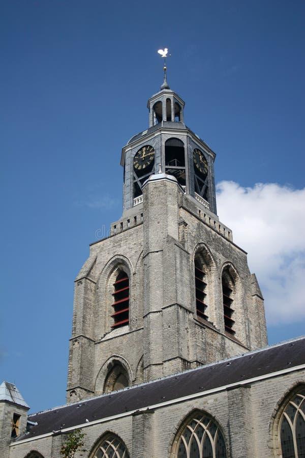 De toren van Chuch stock foto's
