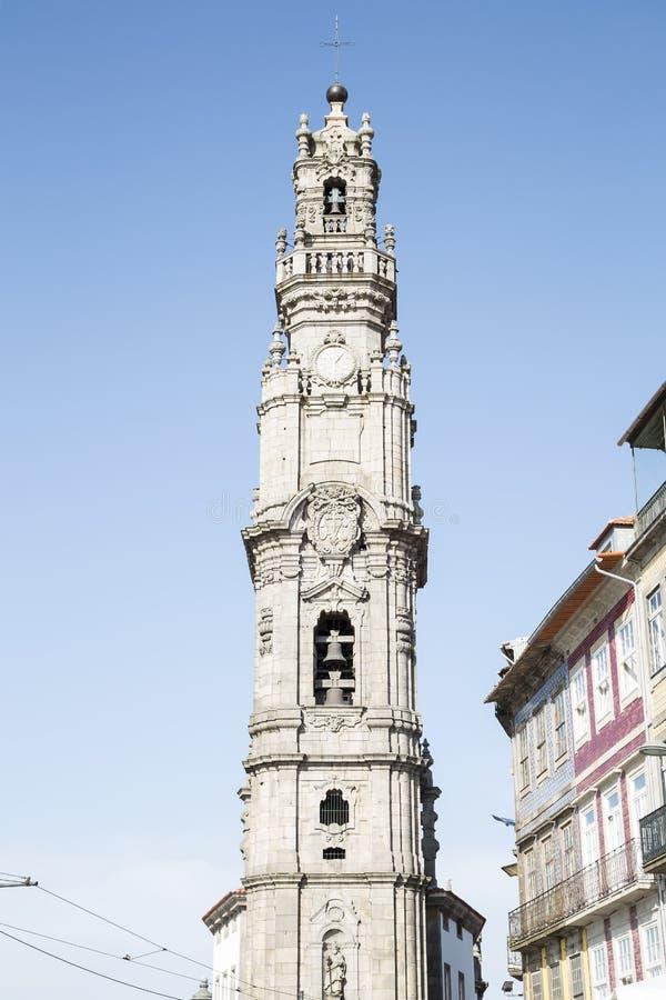 De toren van Clerigos royalty-vrije stock afbeeldingen