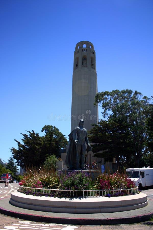 De Toren van Coit, San Francisco stock foto