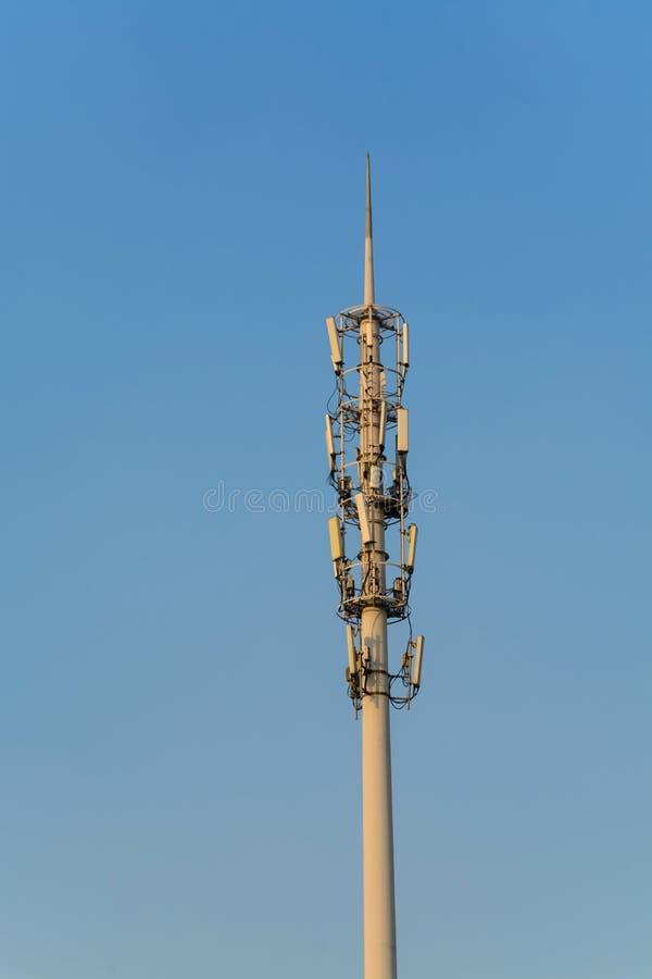 De Toren van de antenne van Mededeling royalty-vrije stock foto