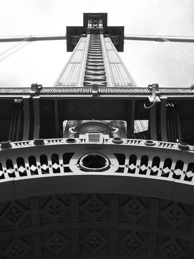Download De Toren Van De Brug Van Manhattan Stock Foto - Afbeelding bestaande uit manhattan, vervoer: 277520