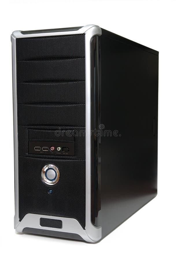 De toren van de computer royalty-vrije stock afbeeldingen