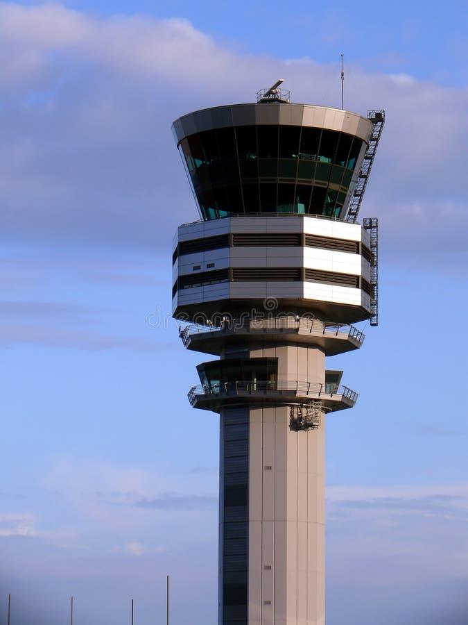 De toren van de controle royalty-vrije stock foto's