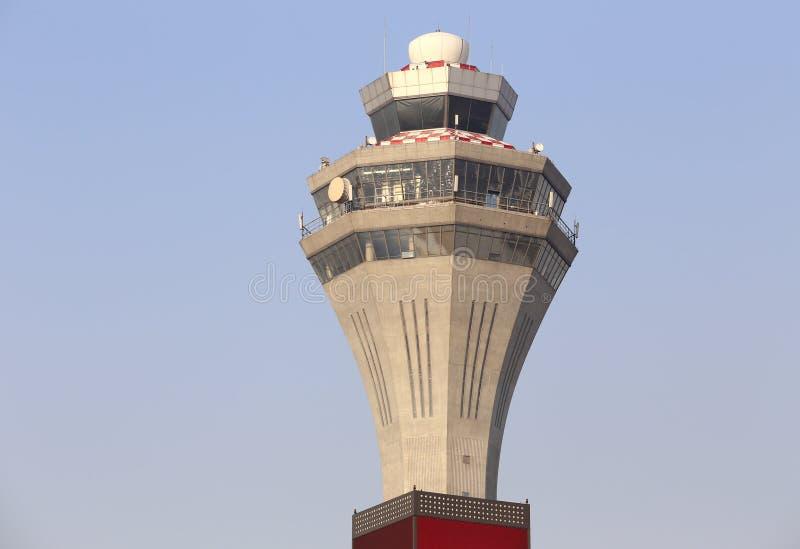De Toren van de Controle van de luchthaven stock afbeeldingen