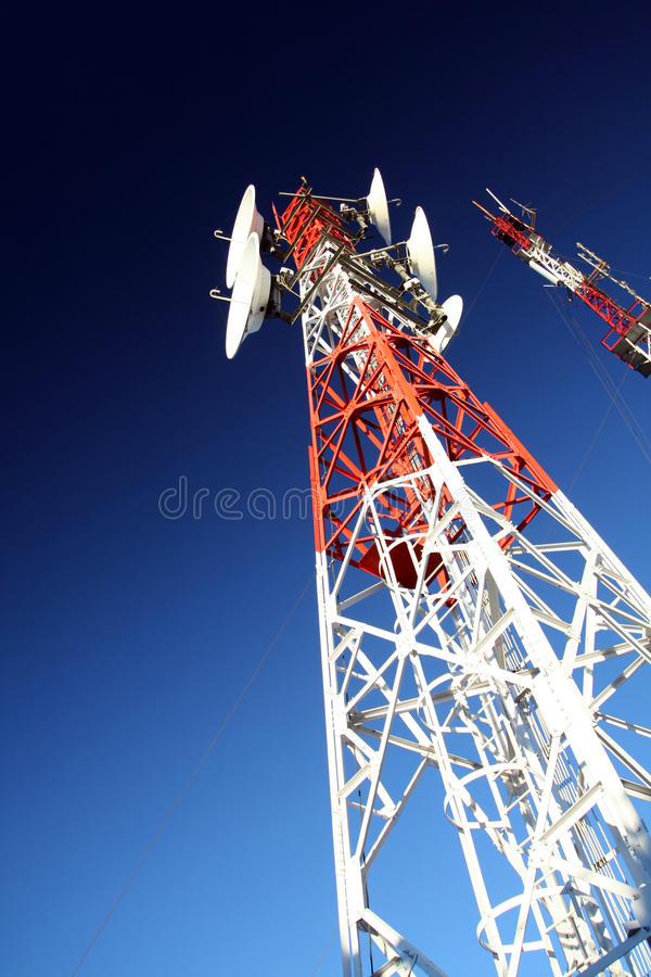 De toren van de elektriciteit royalty-vrije stock afbeelding