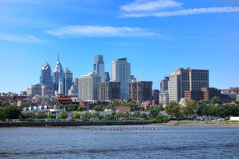 De Toren van de het Centrumstad van Philadelphia en de Bureaubouw royalty-vrije stock afbeeldingen