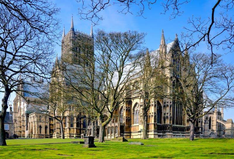 De toren van de kathedraal royalty-vrije stock foto's