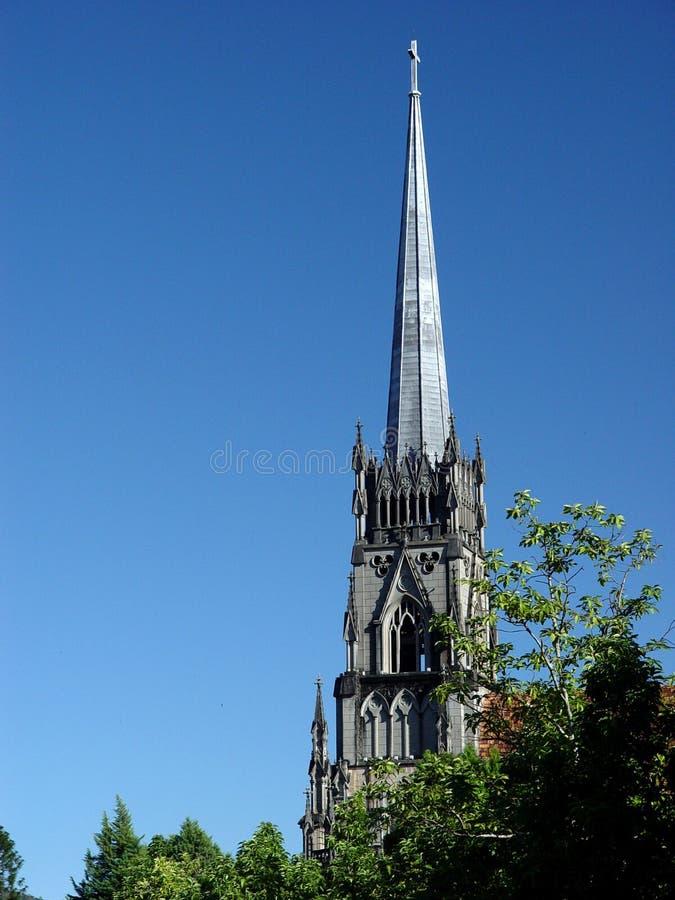 De toren van de Kathedraal van heilige Peter s royalty-vrije stock foto's